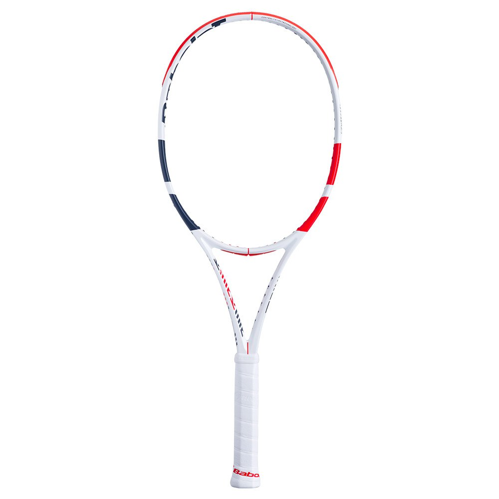 Babolat Pure Strike 100 Sans Cordage 1 White / Red / Black