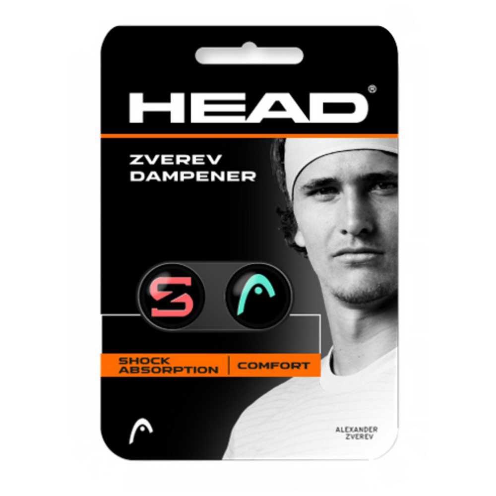Accessoires Head Zverev Dampener 2 Units One Size Teal / Hot Lava