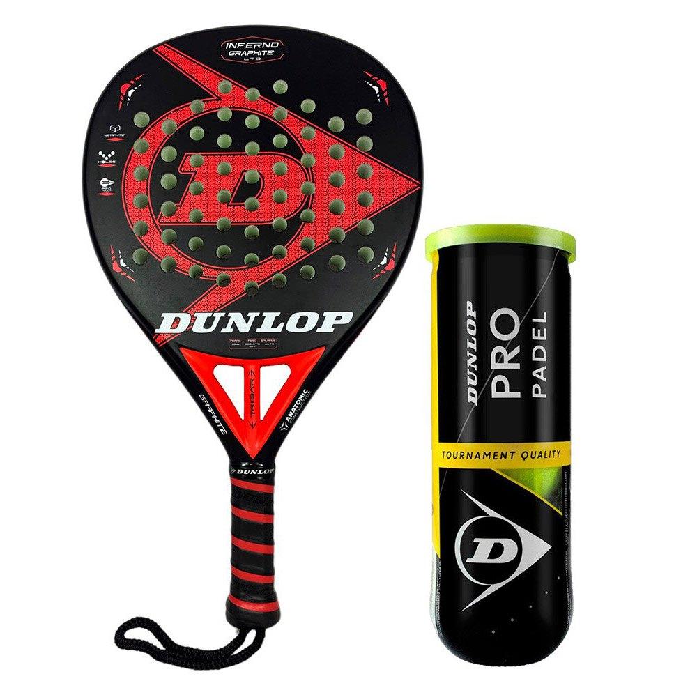 Raquettes de padel Dunlop Inferno Graphite