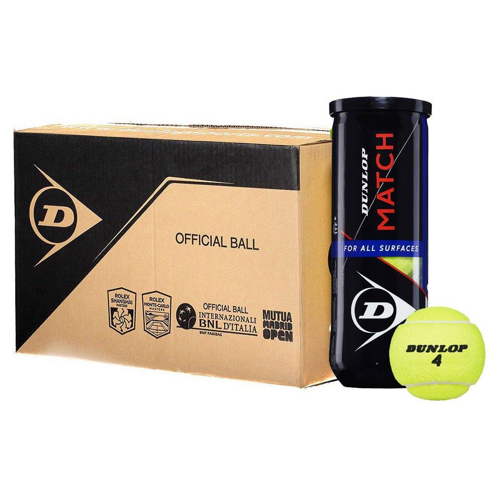 Balles tennis Dunlop Match Box