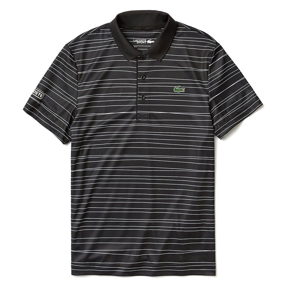 Polos Lacoste Sport Striped Printed Breathable Pique