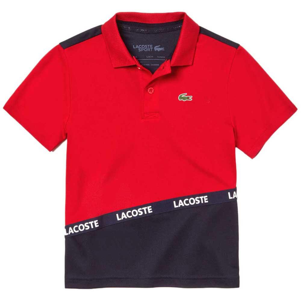 Polos Lacoste Sport Signature Band Colorblock Breathable Pique