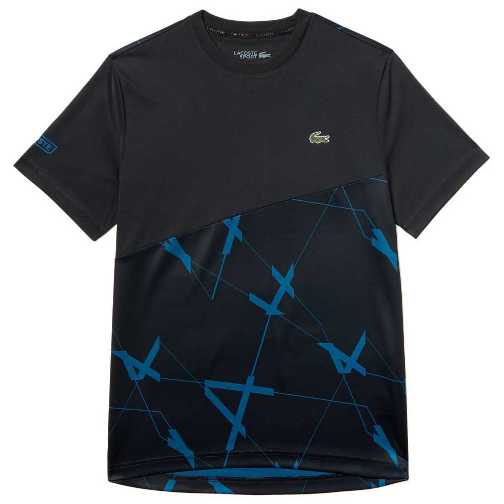 T-shirts Lacoste Sport Geometric Design Breathable Pique