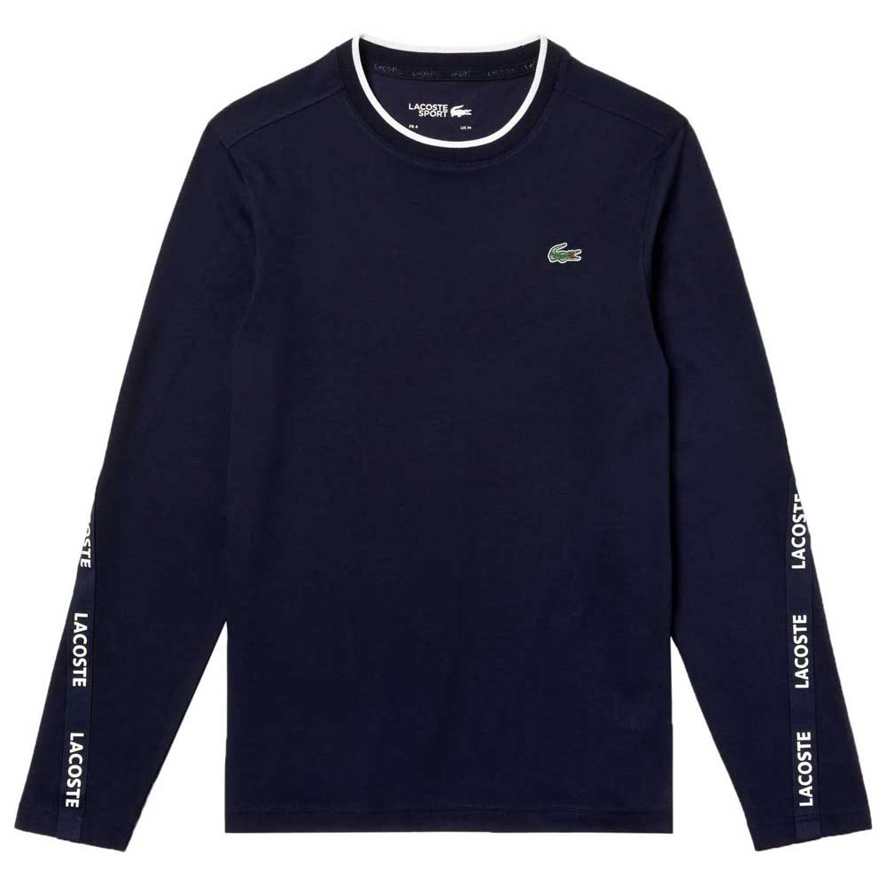 T-shirts Lacoste Sport Signature Bands Breathable