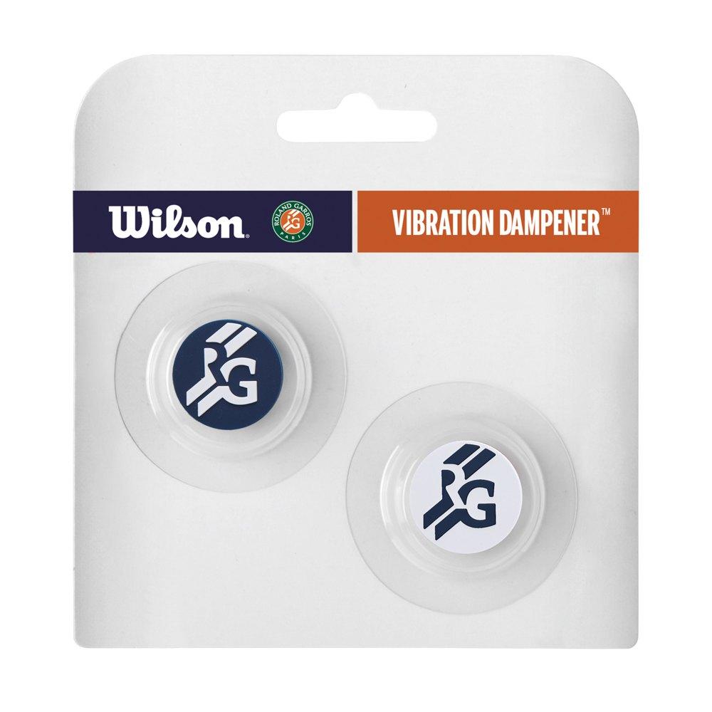 Wilson Roland Garros Vibration Dampener 2 Units One Size Navy / white
