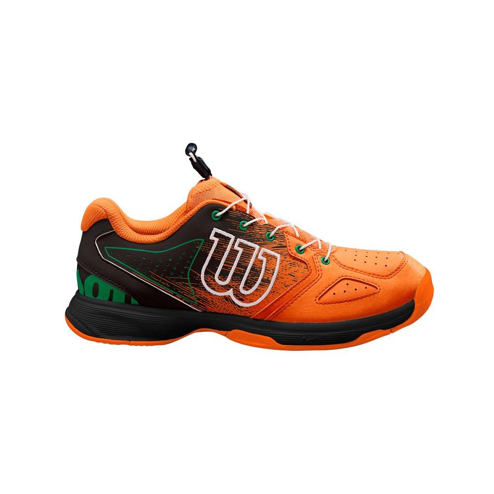 Baskets Wilson Kaos Junior EU 34 Shocking Orange / Black / Amazon