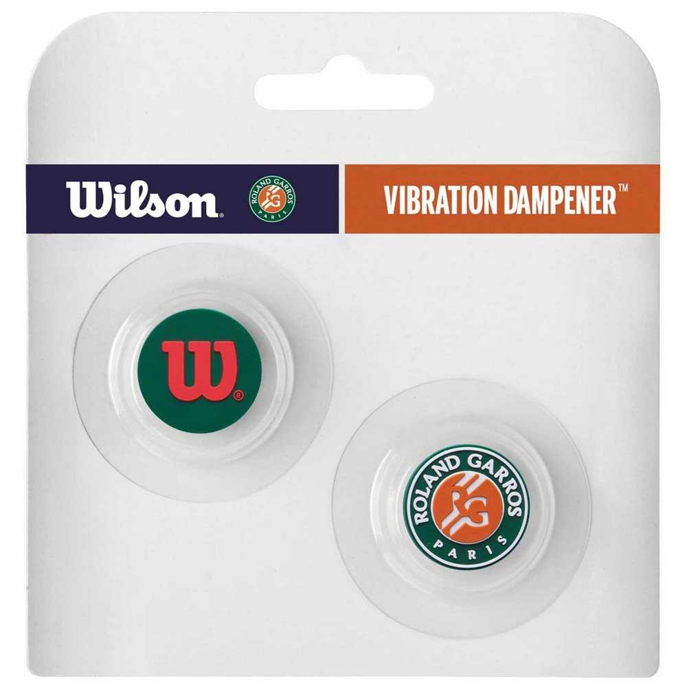 Wilson Roland Garros Vibration Dampener 2 Units One Size Green / Orange / White