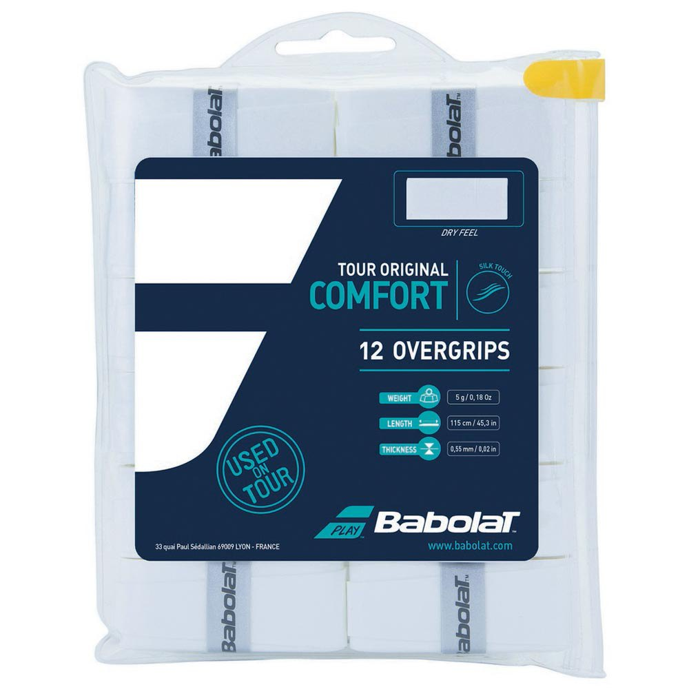 Sur-grips Babolat Tour Original 12 Units One Size White