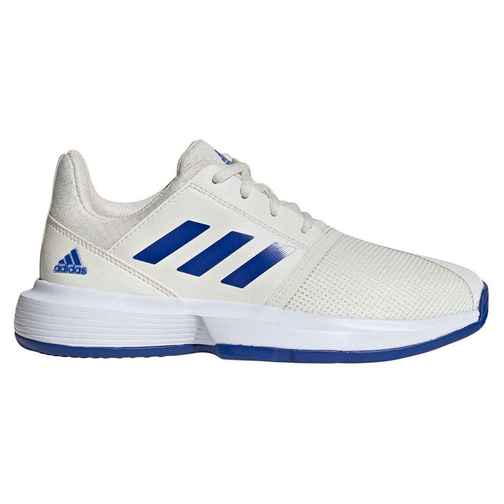 Adidas Courtjam X Junior EU 35 1/2 Off White / Team Royal Blue / Footwear White