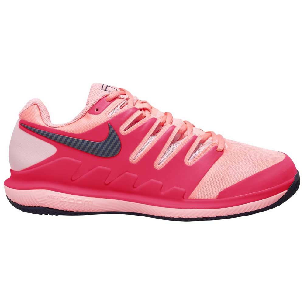 Nike Court Air Zoom Vapor X Clay Shoes Red, Smashinn