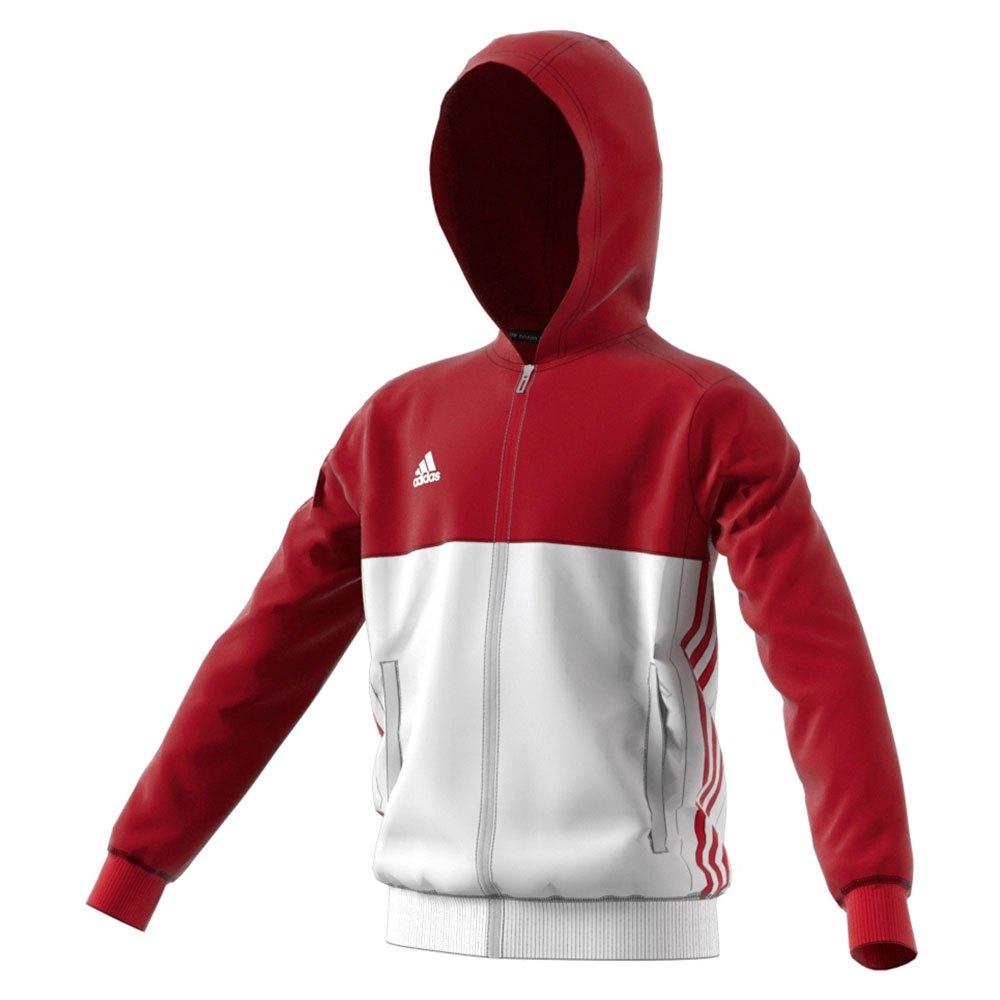 Survêtements Adidas T16 116 cm Power Red / White