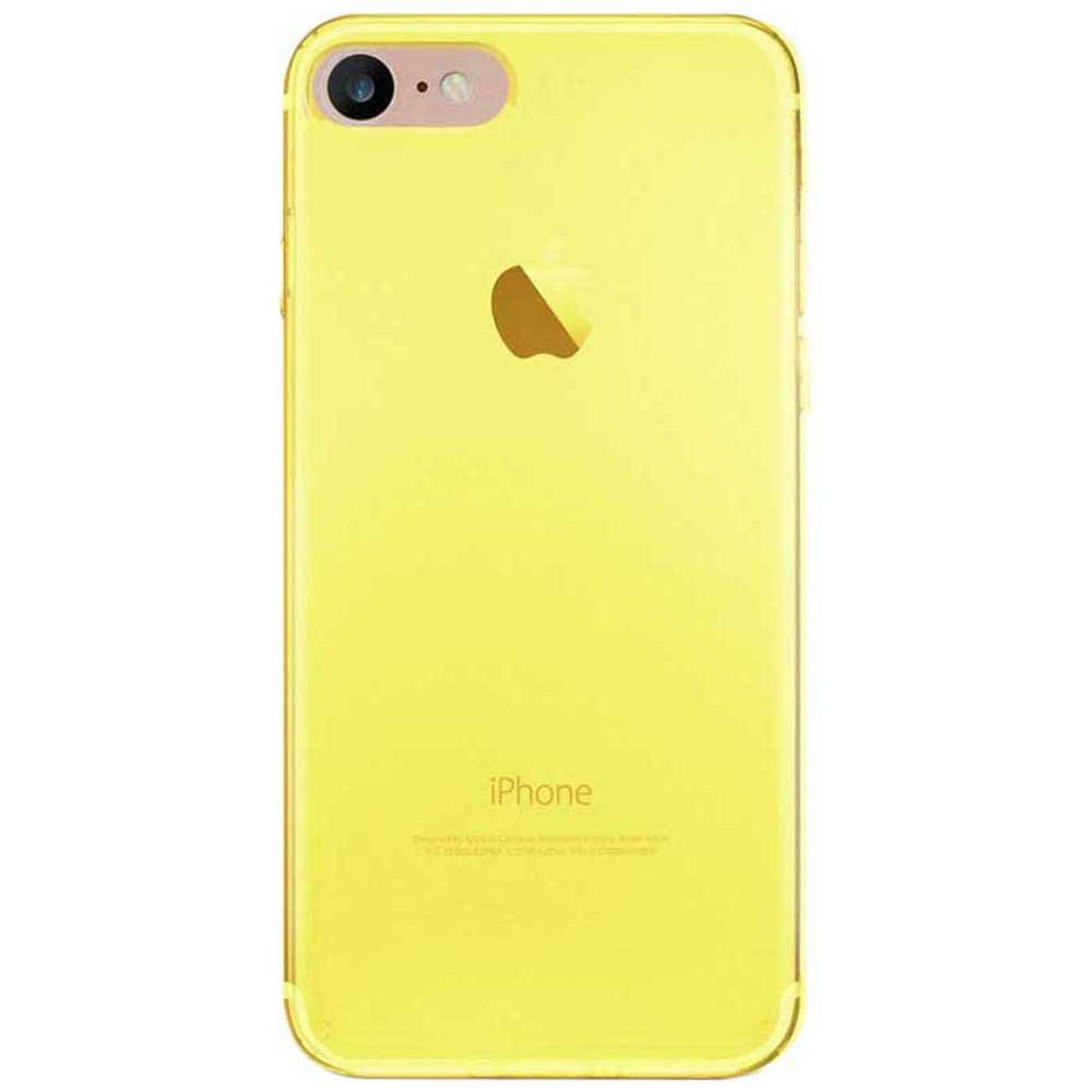 Housses et étuis Puro 03 Nude Iphone 8/7 One Size Fluo Yellow