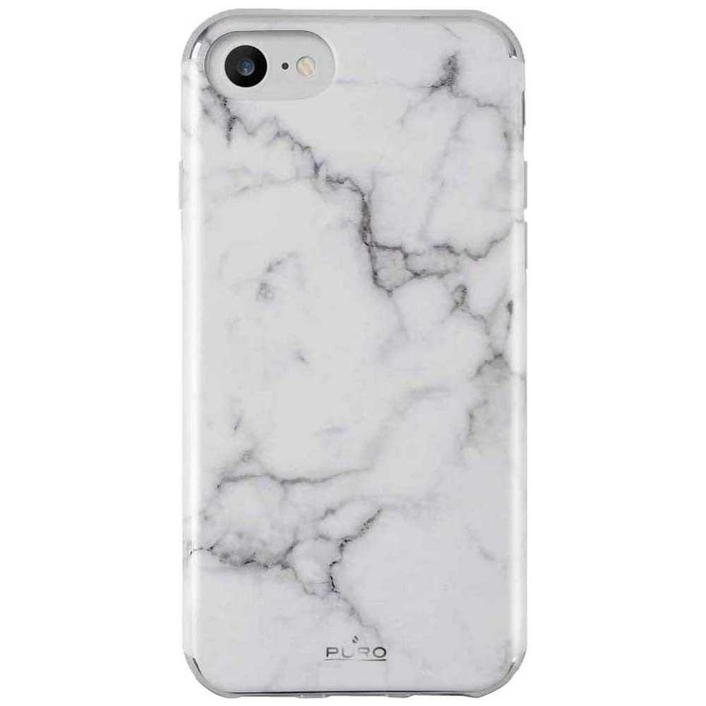 Housses et étuis Puro Marble Iphone 6/6s/7/8 One Size White
