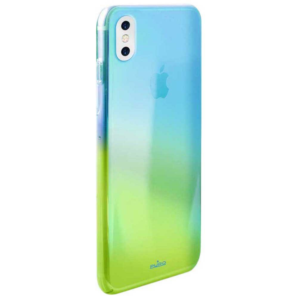 Housses et étuis Puro Hologram Iphone Xs/x One Size Blue