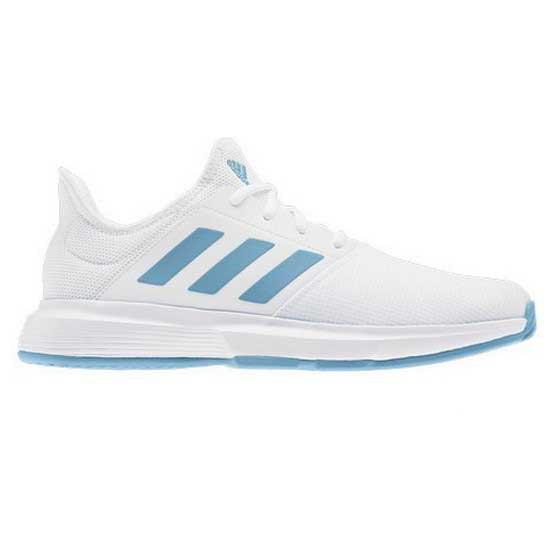 Adidas badminton Game Court Hard Court Shoes White, Smashinn