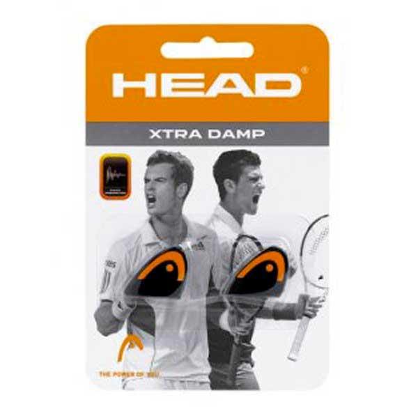 Accessoires Head Xtra Dampener 2 Units One Size Black / Orange