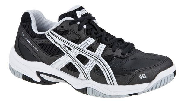 zapatillas asics padel hombre negras