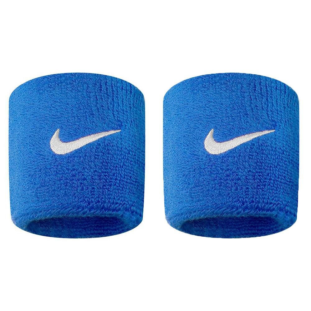 0e2e0d994908 Nike accessories Wristband Swoosh Blue