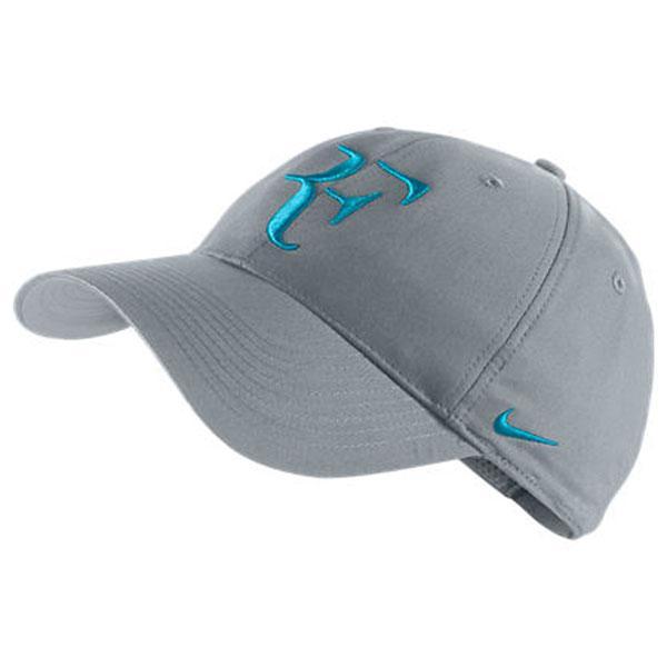 Nike Roger Federer Hybrid Cap Stadium Grey   Neo Turq 85cc9f8a3b
