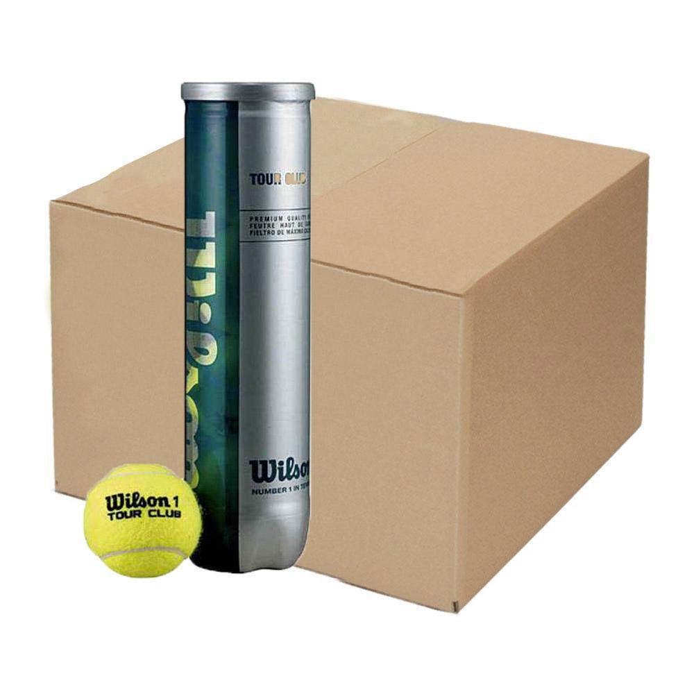 Balles tennis Wilson Tour Club Box
