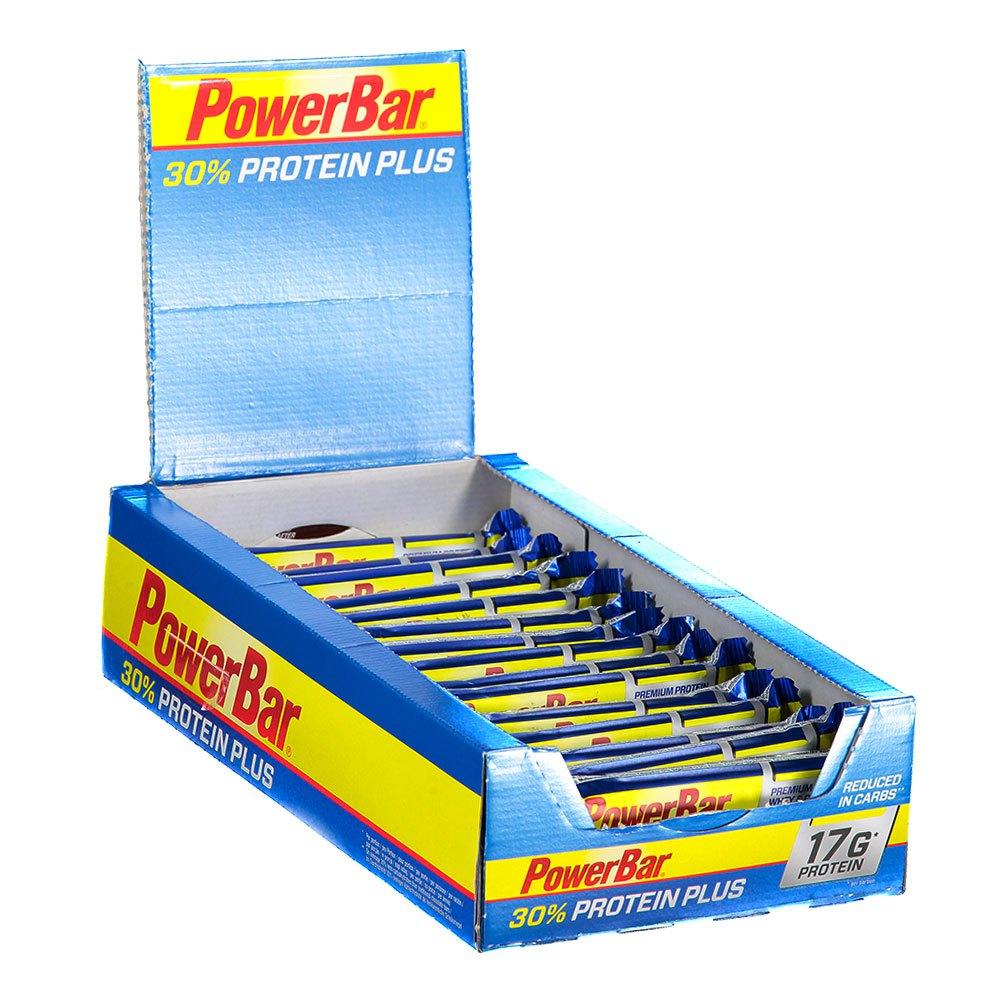 Powerbar Protein Plus 30 Box 15 Units