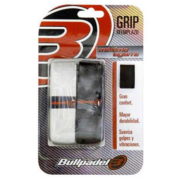 Sur-grips Bullpadel Replacement 2 Units One Size Black / White