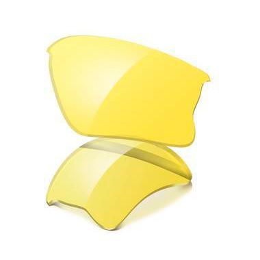 e5badb66042 Oakley Flak Jacket XLJ Replacement Lenses Yellow