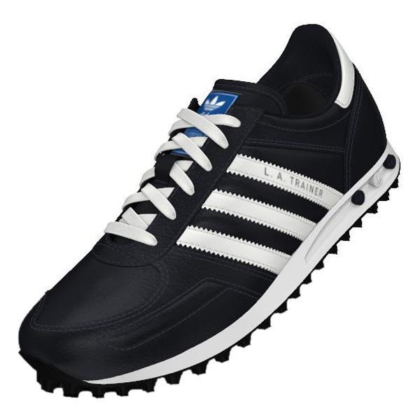 adidas originals mens la trainers white