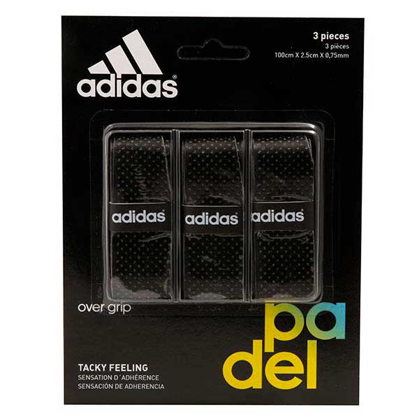 Sur-grips Adidas-padel Tacky Feeling 3 Units One Size Black