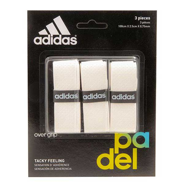 Sur-grips Adidas-padel Tacky Feeling 3 Units One Size White