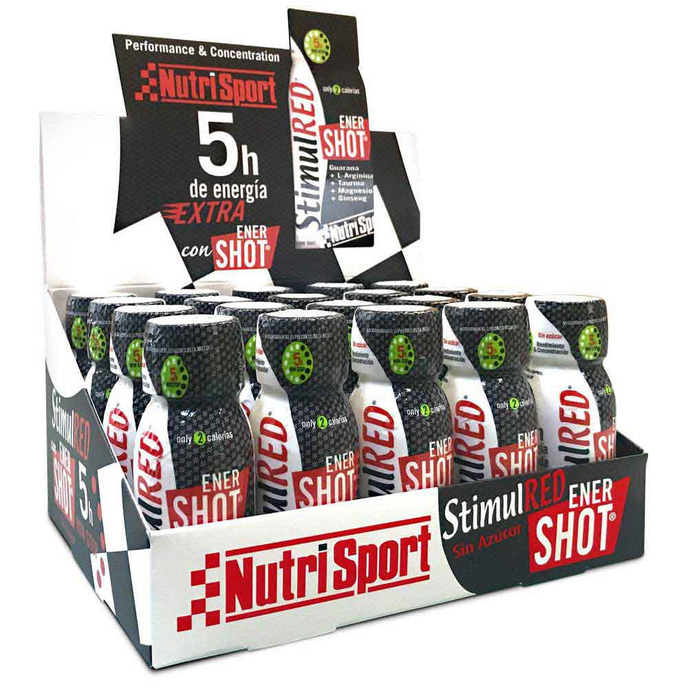 Nutrisport Stimulred Enershot 20 Units