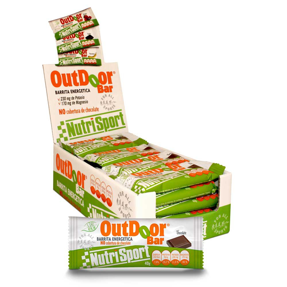 Nutrisport Outdoor 20 Units Chocolate