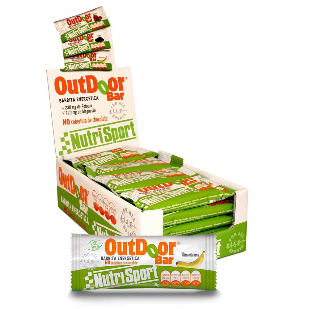 Nutrisport Outdoor 20 Units Banana