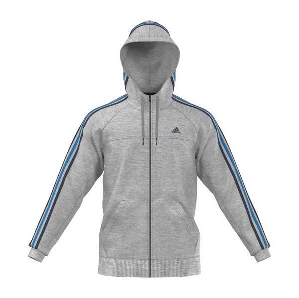 Full 3 HoodySmashinn Stripes Essentials Adidas Zip CoBrxde