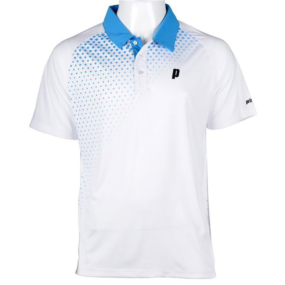 Prince Polo Graphic White / Energy Blue