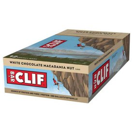 Clif 12 Units White Chocolate&Macadamia Nuts