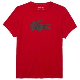 Lacoste Sport 3D Print Crocodile Breathable Short Sleeve T-Shirt