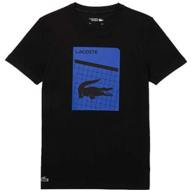 Lacoste Sport 3D Print Breathable Short Sleeve T-Shirt