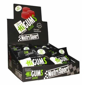 Nutrisport HiGums 20 Units Citric&Cola&Red Berries