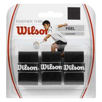 Wilson Feather Thin Badminton 3 Units