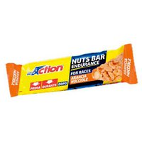 Pro action Nuts Bar Orange Hazelnut 30 g x 25 Units