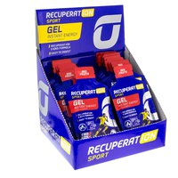Recuperat-ion Recupertaion Energy Gel 24 Units Red Fruits