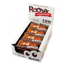 Roo´bar Raw Energy Bar Cacao Nibs y AlHombredrass 30gr X 20