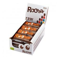 Roo´bar Raw Energy Bar Cacao Nibs y AlHombredrass 50gr X 16