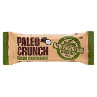 Paleo crunch Bar Raw Coconut 47gr x 12 Units
