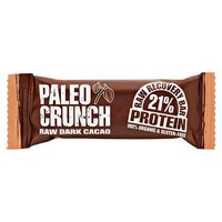 Paleo crunch Bar Raw Dark Cacao Protein Bar 48gr x 12 Units