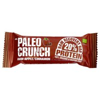 Paleo crunch Bar Raw Apple And Cinnamon Protein Bar 48gr x 12 Units