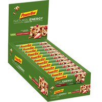 Powerbar Natural Energy 40gr 24 Units Strawberry&Cranberry