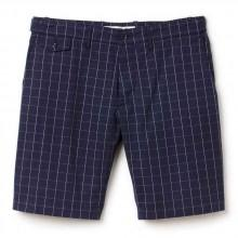 Lacoste Bermuda Shorts in check canvas