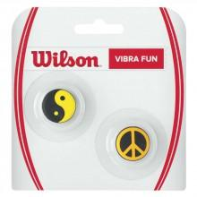 Wilson Vibra Fun Neon Ying Yang Peace 2 Units